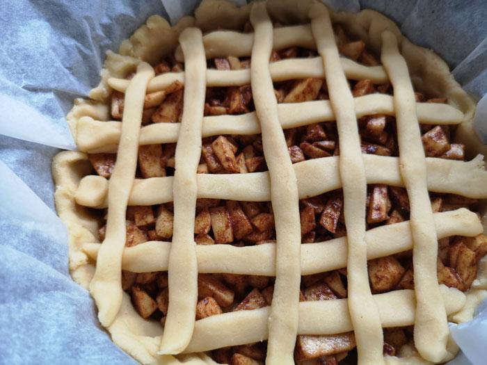 appeltaart maken in de slowcooker