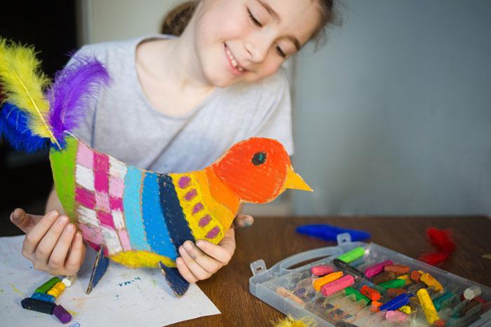 Vogels knutselen, inspiratie