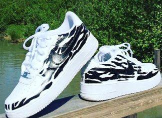 zomer sneakers gepimpt