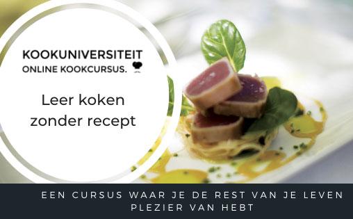 online kookcursus van kookuniversiteit