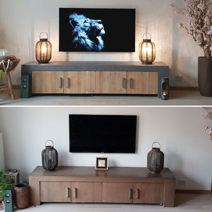 tv meubel opknappen