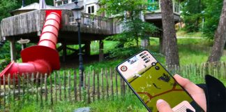 Landal adventure app digitaal boomhut bouwen