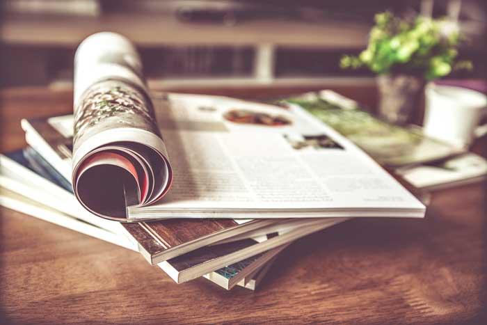 Interieur inspiratie opdoen in tijdschriften