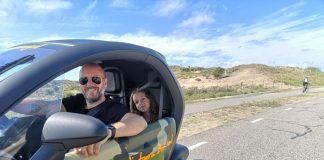 gps tour met elektrische auto's van Renzy