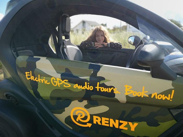 Renzy gps tour met het gezin