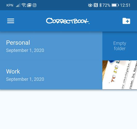 correctbook app