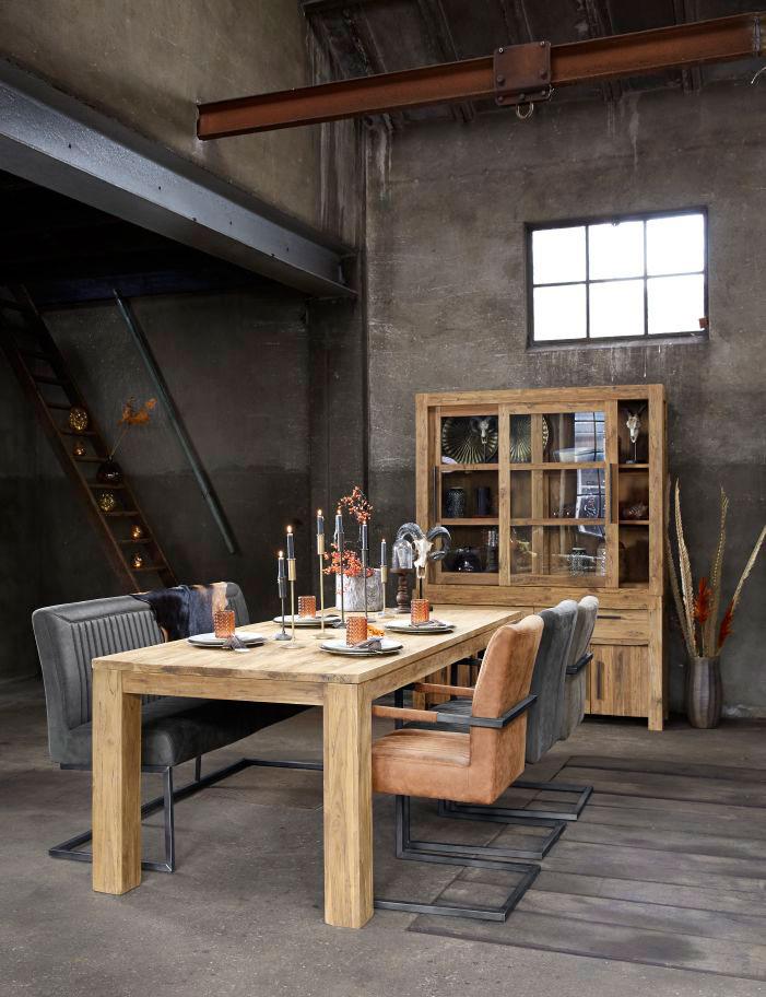 industriele eetkamerstoelen, model parantino