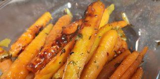 gekarameliseerde wortel
