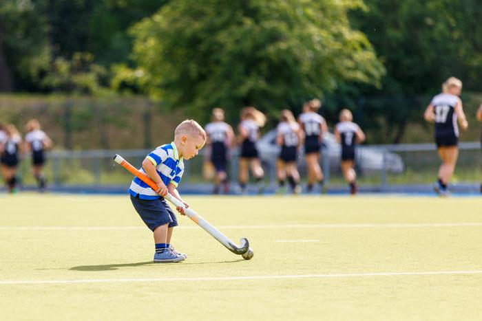hockey voor kinderen; een populaire kindersport