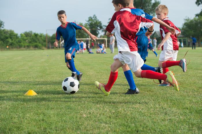 kinder voetbal