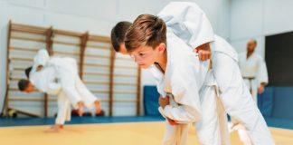 judo kind sporten