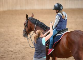 paardrijden kinderen