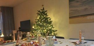 kerstdiner met de kinderen thuis