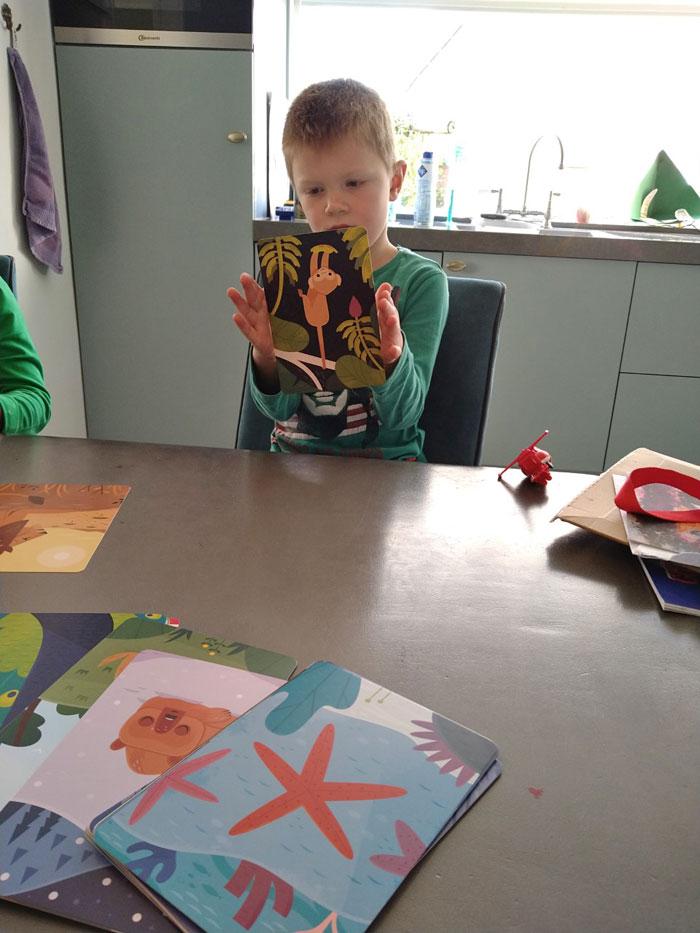 mindfulness voor kinderen met Monkey Mind kaarten set