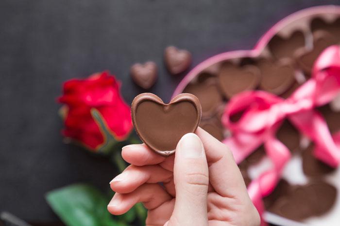 valentijnscadeau chocolade