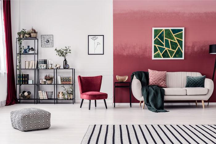 Woonkamer Schilderen In Twee Kleuren Inspiratieblog Met Toffe Ideeen