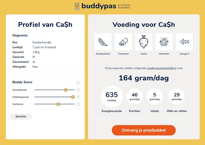 Buddybites profiel Cash