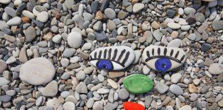 stenen schilderen en knutselen met kinderen