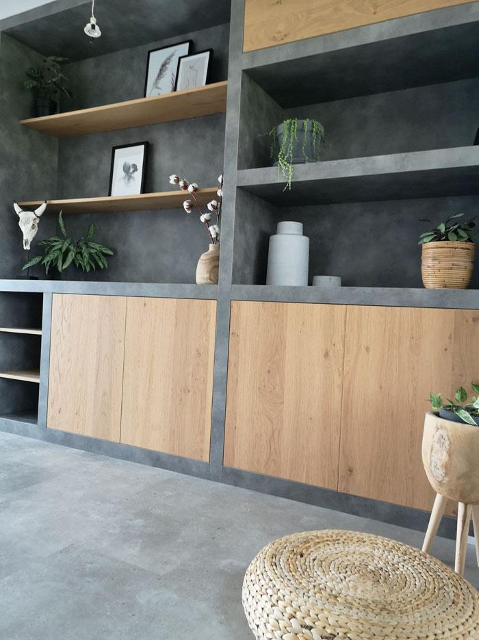 betonlook pvc vloer