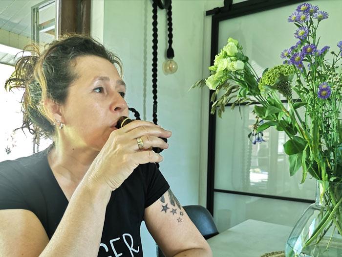 collageen drinken, een shotje per dag