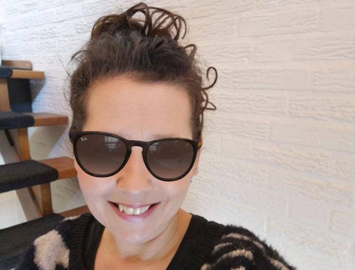 Een Rayban Erika zonnebril