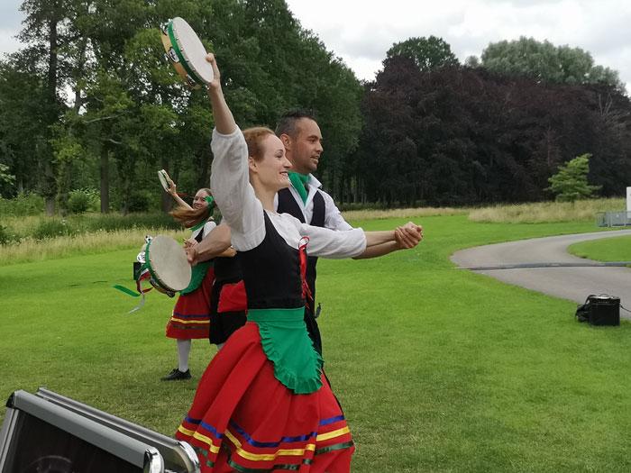 muziek en italiaanse traditie op evenement bij kasteel de haar