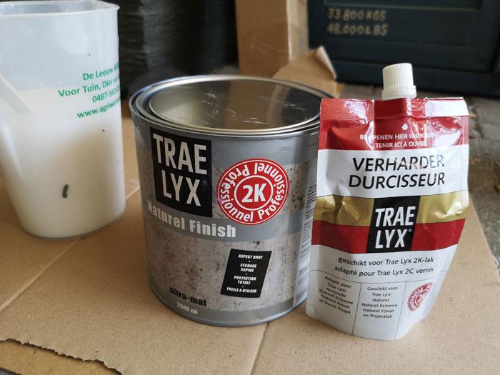 Trae Lyx lak om keuken muren mee te verven