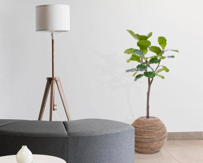 kunstplant groot woonkamer