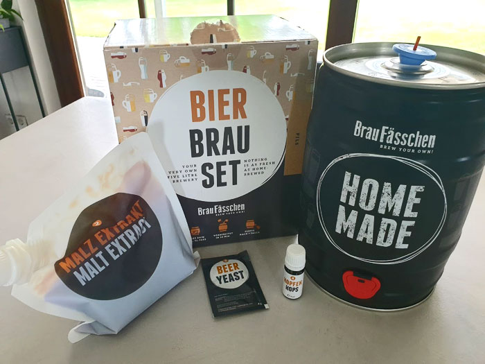 Zelf bier brouwen, cadeau voor papa
