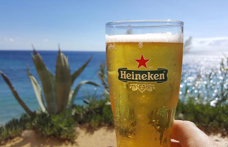 uitzicht vanaf club Ibiza