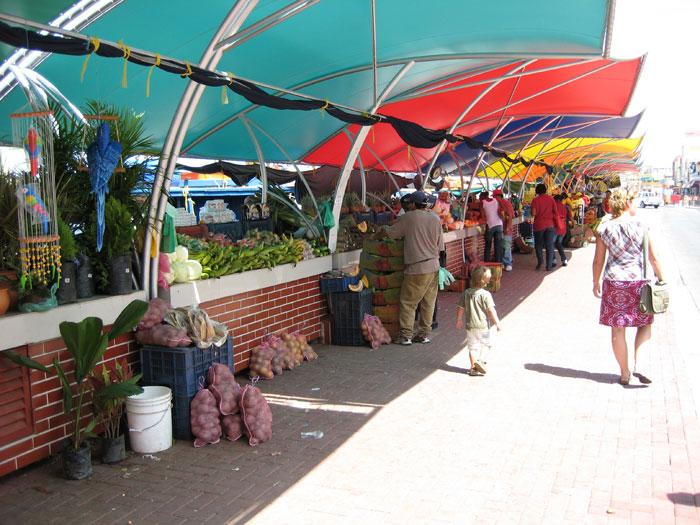 lokale markt Curaçao