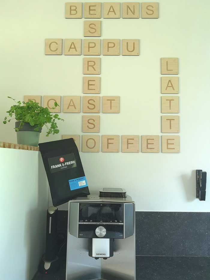 Frank & Fresh coffee abonnement Raw & Robust