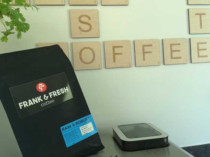 koffie abonnement van Frank & Fresh coffee