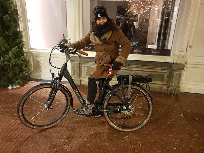 Auto verkocht en nu op de fiets